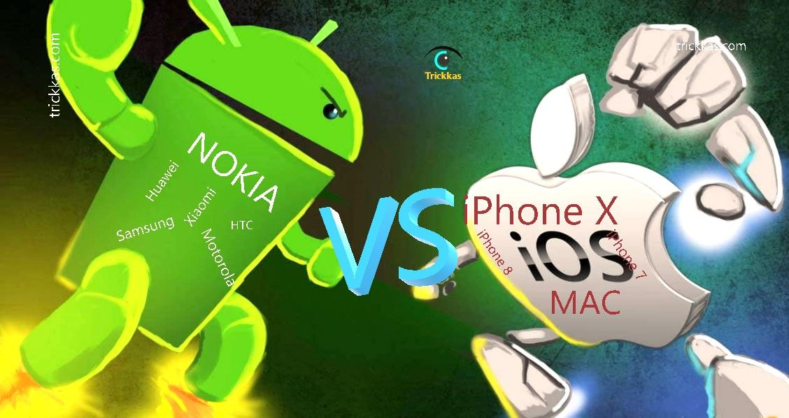 android smartphone vs iphone