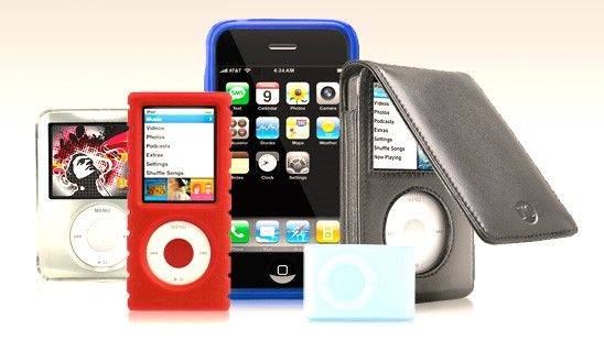 apple ipod and iphone