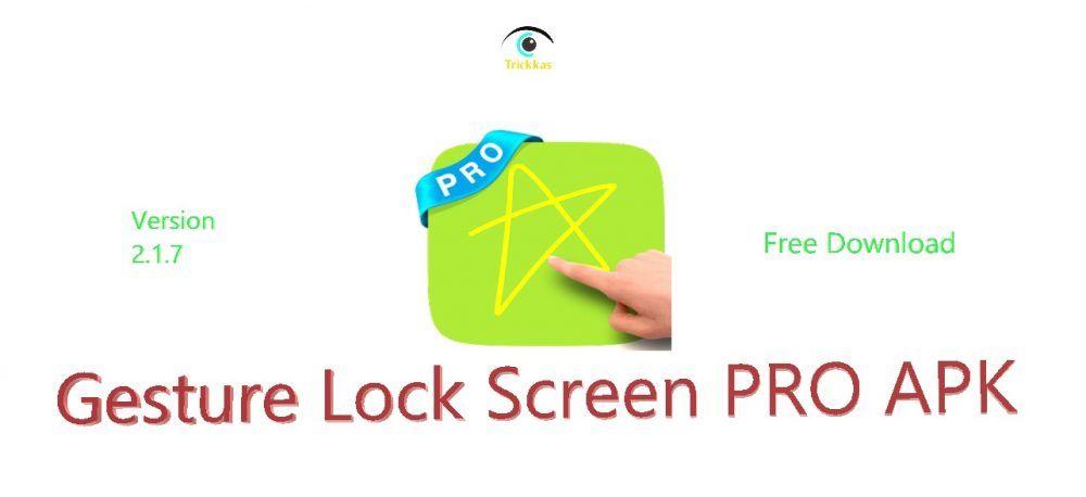 gesture lock scree pro apk