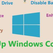 windows 10 speed up