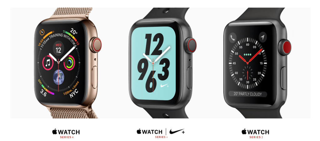 apple watch series 4 specifications