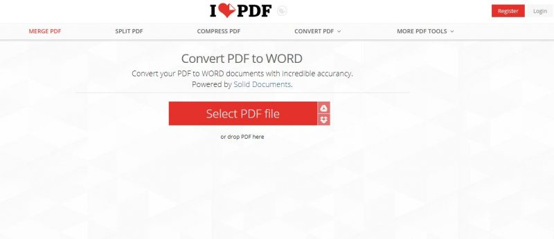 convert pdf to word, pdf to doc converter