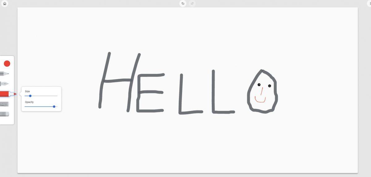 google chrome canvas, canvas doodle app