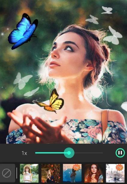 PhotoDirector Free Animate Photo Editor App Screenshot