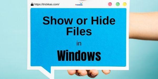 How-or-Hide-Files-in-Windows