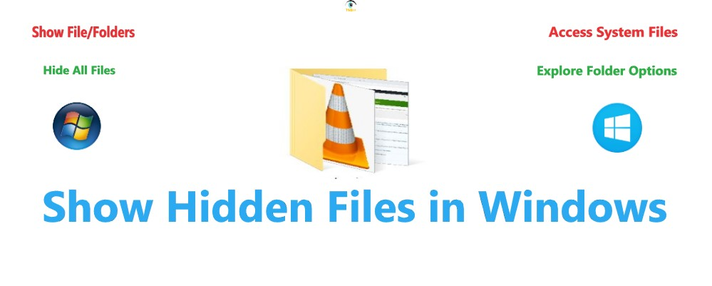 Show hidden files in windows 10, show or hide files, folders in windows