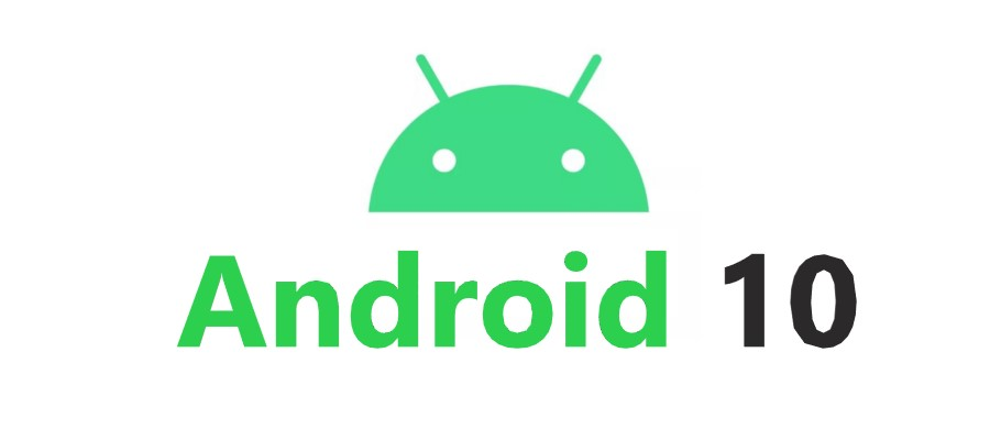 android 10 with android icon
