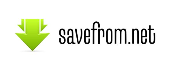 save YouTube video online from savefrom.net extension