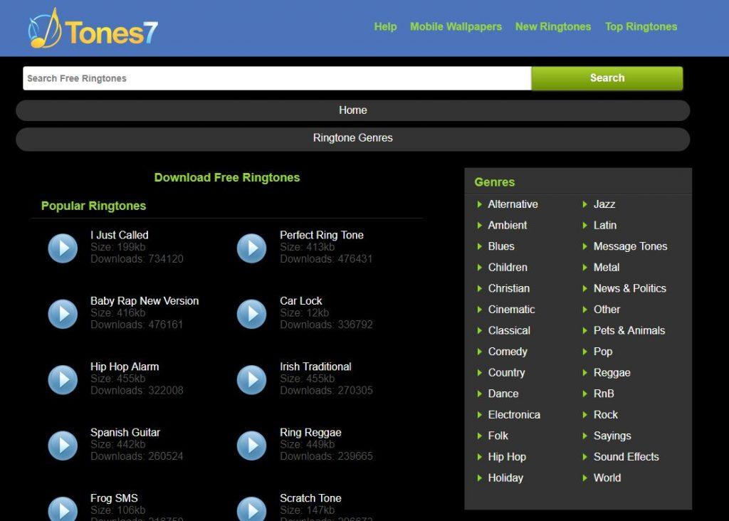 Tones7.com