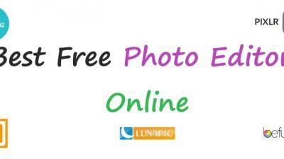 best free online photo editor 2019
