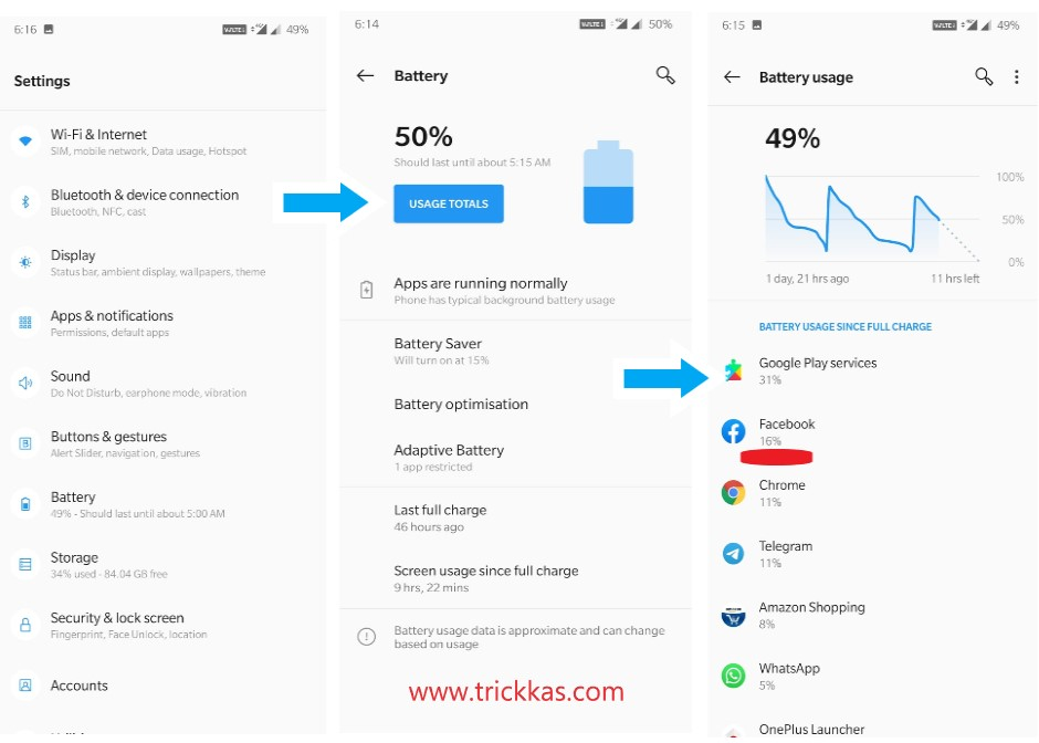 fix battery drain issue android