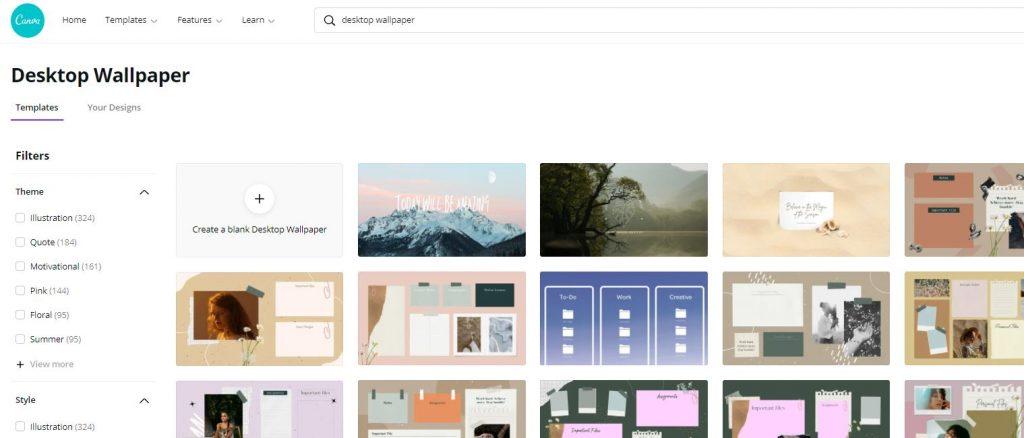 Desktop Wallpaper Canva