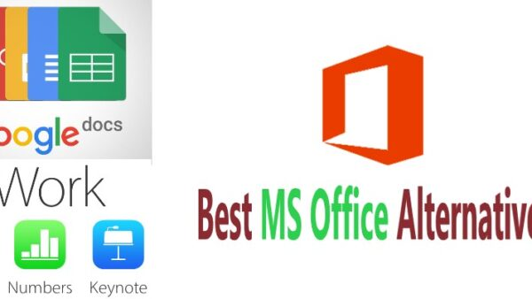Comparison of Best Free Microsoft Office Alternative