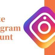 delete instagram tips and tricks