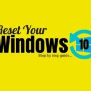 windows 10 reset guide