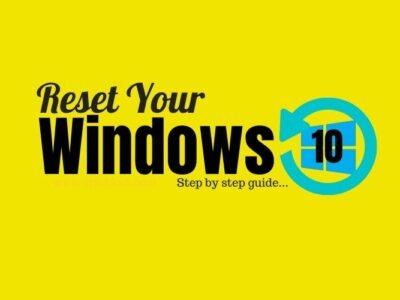 windows 10 reset guide