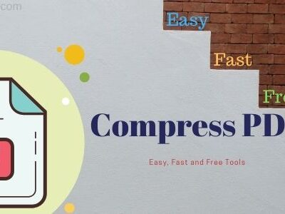 how to compress pdf files online