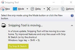 convert pdf to jpg using snipping tool in Windows