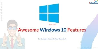 windows 10 features and tricks