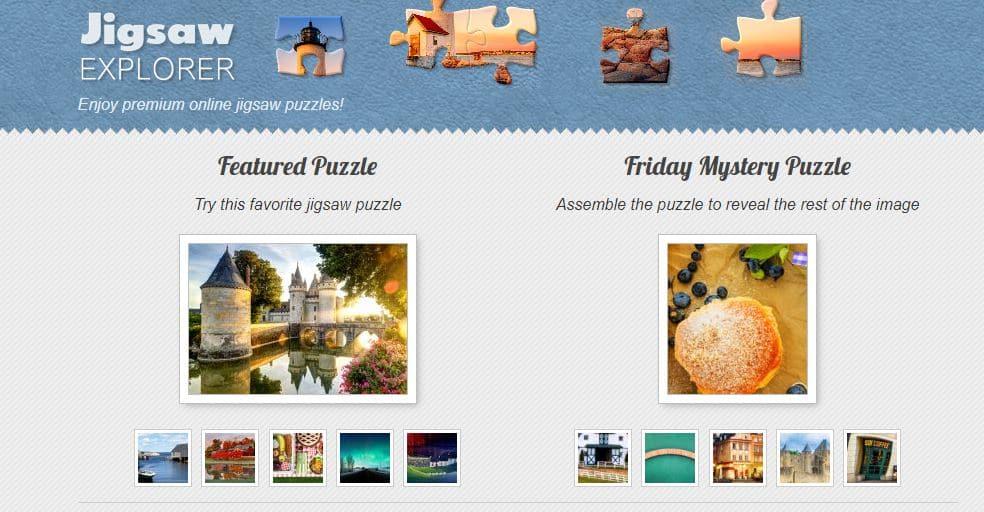 Jigsaw Explorer-Enjoy premium Online Jigsaw Puzzles