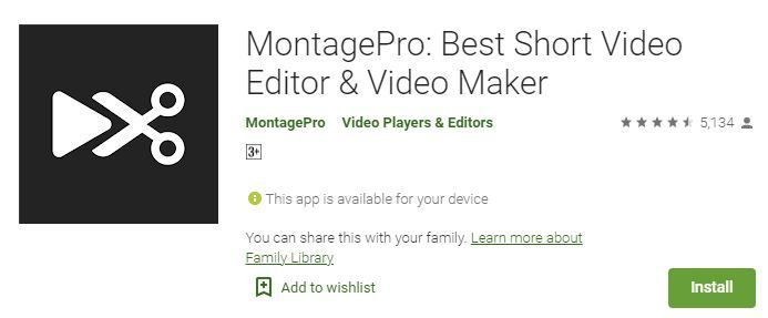 MontagePro_Free_Short_Video_Editor_for_Android