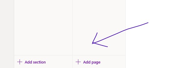 Add Sections and Pages to OneNote App