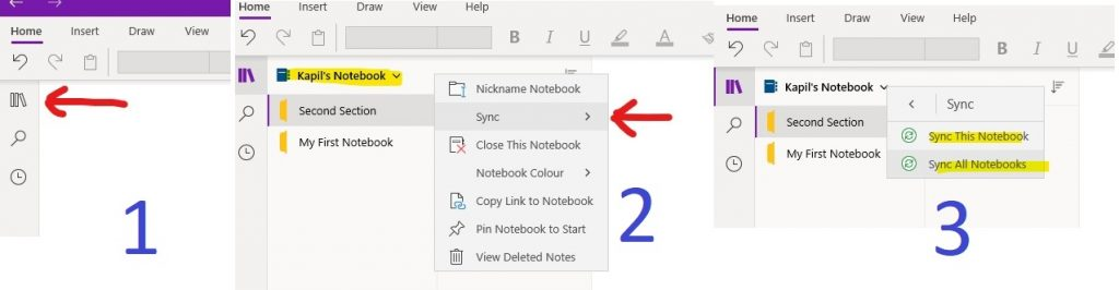 Enable Notebook Sync