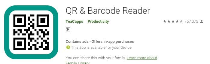 QR Reader by TeaCapps